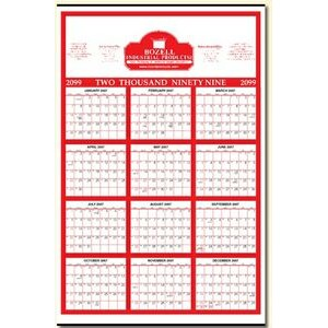 "Year-at-a-Glance Commercial Wall Calendar (22""x34"")"